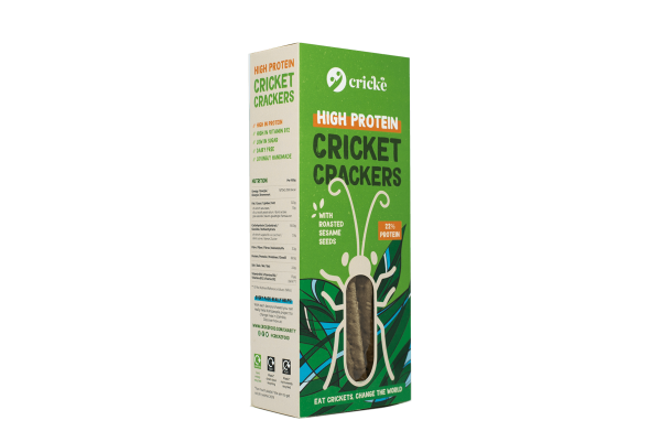 Crické Cricket Crackers box.